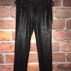 Fate Jeans - Leather jean